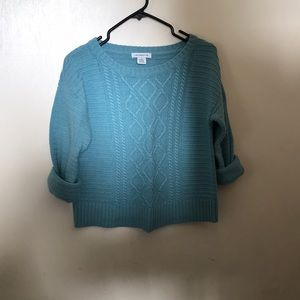 Liz Claiborne crew neck sweater